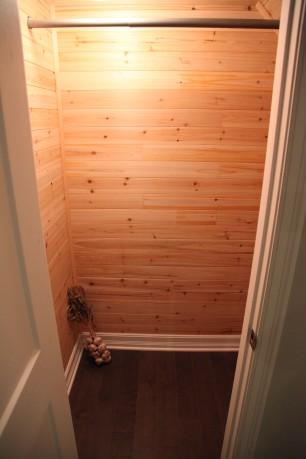 Cedar Closet