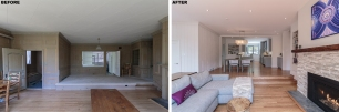 Open Living-Dining-Kitchen_Before+After